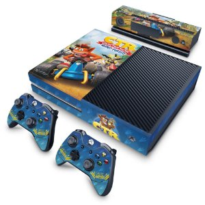 Xbox One Fat Skin - Crash Team Racing CTR