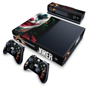 Xbox One Fat Skin - Joker Coringa Filme