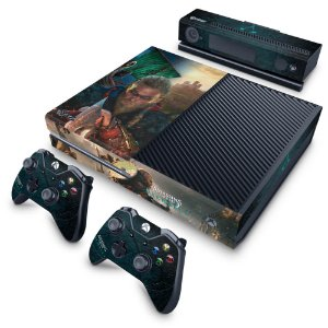 Xbox One Fat Skin - Assassin's Creed Valhalla