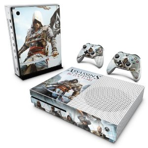 Xbox One Slim Skin - Assassins Creed Black Flag