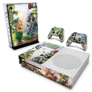 Xbox One Slim Skin - Plants Vs Zombies Garden Warfare