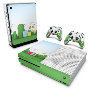 Xbox One Slim Skin - Super Mario