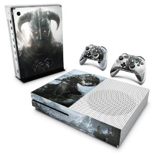 Xbox One Slim Skin - Skyrim