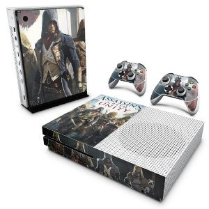 Xbox One Slim Skin - Assassins Creed Unity