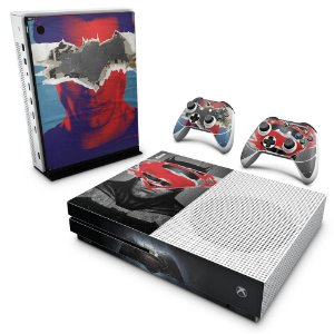 Xbox One Slim Skin - Batman Vs Superman