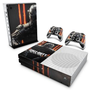 Xbox One Slim Skin - Call of Duty Black Ops 3