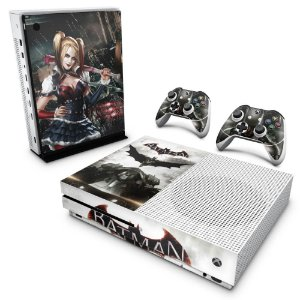 Xbox One Slim Skin - Batman Arkham Knight