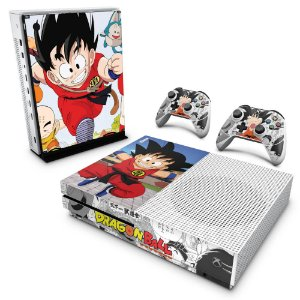 Xbox One Slim Skin - Dragon Ball Clássico