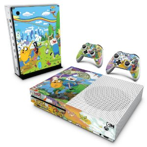 Xbox One Slim Skin - Hora de Aventura