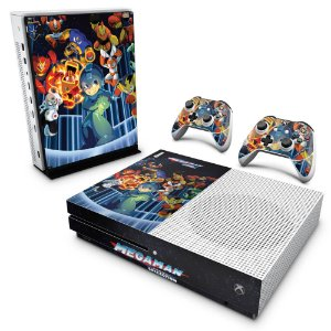 Xbox One Slim Skin - Megaman Legacy Collection