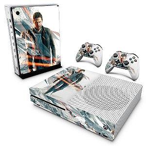 Xbox One Slim Skin - Quantum Break