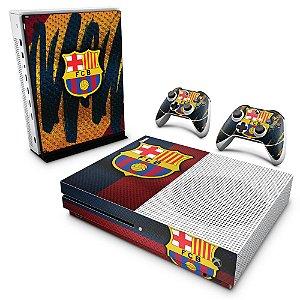 Xbox One Slim Skin - Barcelona