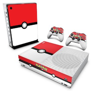 Xbox One Slim Skin - Pokemon Pokebola