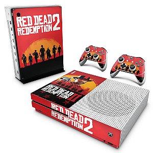 Xbox One Slim Skin - Red Dead Redemption 2