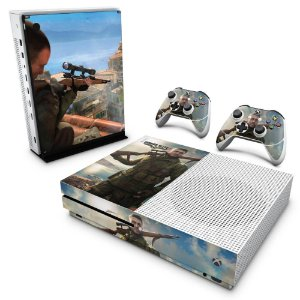 Xbox One Slim Skin - Sniper Elite 4