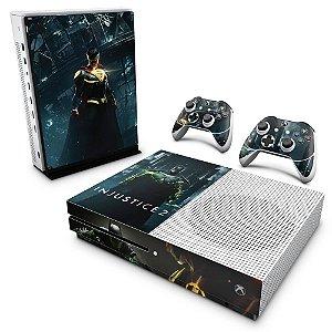 Xbox One Slim Skin - Injustice 2