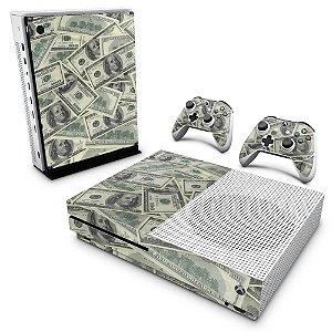 Xbox One Slim Skin - Dollar Money Dinheiro