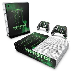 Xbox One Slim Skin - Monster Energy Drink