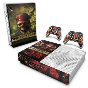 Xbox One Slim Skin - Piratas do Caribe