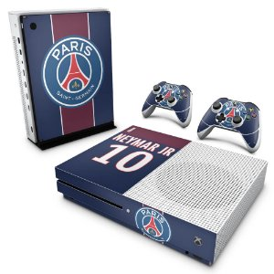 Xbox One Slim Skin - Paris Saint Germain Neymar Jr PSG