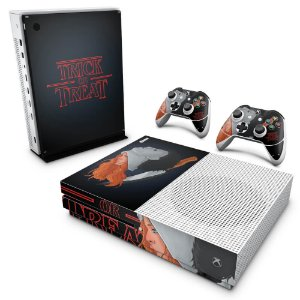 Xbox One Slim Skin - Stranger Things Max