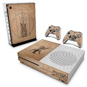 Xbox One Slim Skin - Assassin's Creed Vitruviano