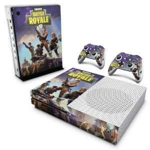 Xbox One Slim Skin - Fortnite Battle Royale