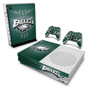 Xbox One Slim Skin - Philadelphia Eagles NFL