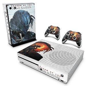 Xbox One Slim Skin - Shadow Of The Tomb Raider