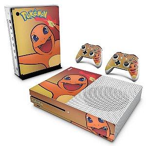 Xbox One Slim Skin - Pokemon Charmander