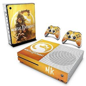 Xbox One Slim Skin - Mortal Kombat 11