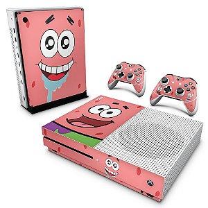 Xbox One Slim Skin - Patrick Bob Esponja