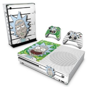 Xbox One Slim Skin - Rick Rick and Morty