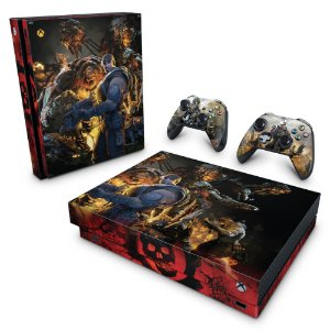 Xbox One X Skin - Gears of War