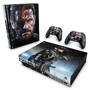 Xbox One X Skin - Metal Gear Solid V