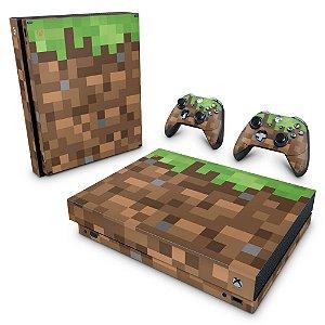 Xbox One X Skin - Minecraft