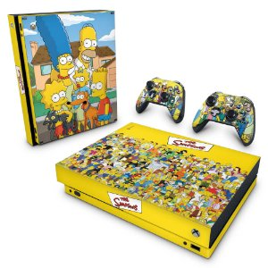 Xbox One X Skin - The Simpsons