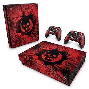 Xbox One X Skin - Gears of War - Skull