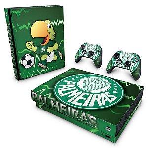 Xbox One X Skin - Palmeiras