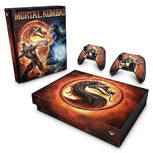 Xbox One X Skin - Mortal Kombat