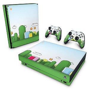 Xbox One X Skin - Super Mario
