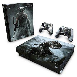 Xbox One X Skin - Skyrim