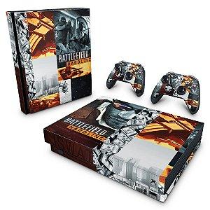 Xbox One X Skin - Battlefield Hardline