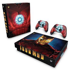 Xbox One X Skin - Iron Man - Homem de Ferro