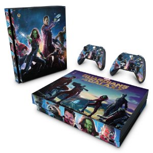 Xbox One X Skin - Guardiões da Galaxia