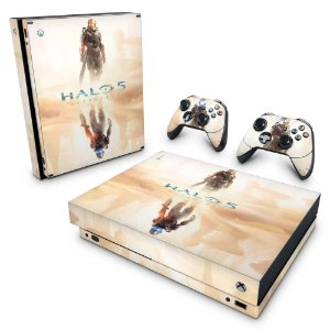 Xbox One X Skin - Halo 5: Guardians #A