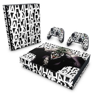 Xbox One X Skin - Joker Coringa Batman