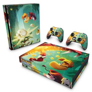 Xbox One X Skin - Rayman Legends