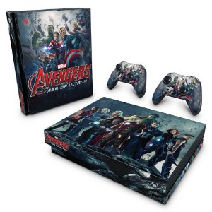 Xbox One X Skin - Avengers - Age of Ultron