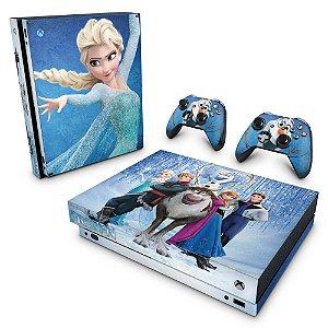 Xbox One X Skin - Frozen